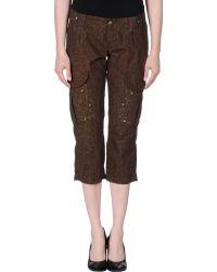 Liu Jo 3/4-Length Trousers - Lyst