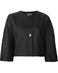 Philosophy di Alberta Ferretti Textured Jacket - Lyst