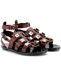 Proenza Schouler Studded Leather Sandals - Lyst