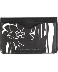 Alexander McQueen | Graphic Card Holder | Lyst