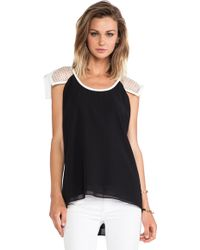 Lumier - Check It Out Top - Lyst