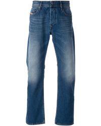 Diesel Wide Leg Jeans - Lyst
