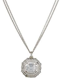 Renee Lewis Octagonal Pendant Necklace - Lyst