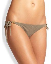 Heidi Klein Bimini Rope Side-Tie Bikini Bottom - Lyst