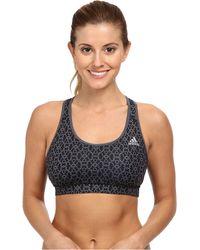Adidas Techfit Bra - Geo Freeze - Lyst