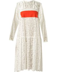 Preen Anne Lace Dress - Lyst