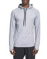 BPM Fueled by Zella - 'halite' Base Layer Performance Hoodie - Lyst