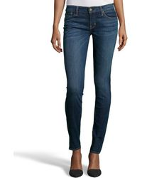 Textile Elizabeth And James Lake Wash Stretch Denim Debbie Skinny Jeans - Lyst