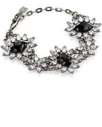 Dannijo Deliliah Crystal Bracelet - Lyst