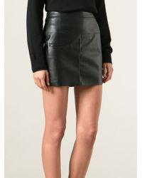 Costume National Mini Pencil Skirt - Lyst