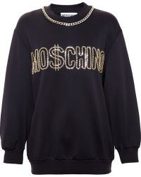 Moschino Dollar Chain Jumper - Lyst
