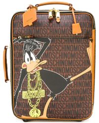 Moschino - Daffy Duck Monogrammed Trolley - Lyst