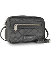 Marc By Marc Jacobs Sally Quilted Saffiano Leather Crossbody Bag - Lyst
