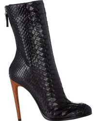 Haider Ackermann Back-zip Ankle Boots - Lyst