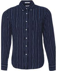 Gant Rugger Rope Print Oxford Shirt - Lyst