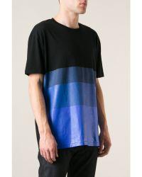 Matthew Miller Gradient Dip Dye T-shirt - Lyst