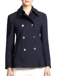 3.1 Phillip Lim Double-Breasted Peacoat - Lyst