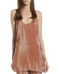 Gucci Iridescent Rust Liquid Tank - Lyst