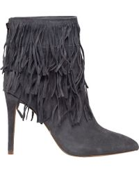 Steve Madden | Flapper Fringed Suede Boots | Lyst