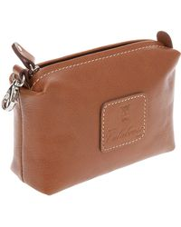 Calabrese Bags - Small Leather Wash Bag - Lyst