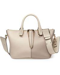 Chloé Baylee Medium Bicolor Shoulder Bag - Lyst