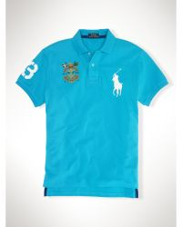 Polo Ralph Lauren Custom-Fit Big Pony Crest Polo - Lyst