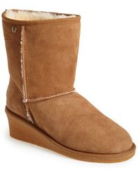 ff113afa3736 Koolaburra -  savannah Ii  Genuine Shearling Wedge Boot - Lyst
