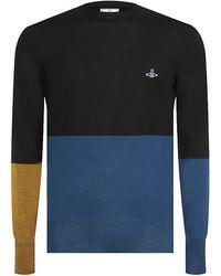 Vivienne Westwood Colour Block Sweater - Lyst