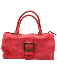 Roger Vivier Handbag Woman red - Lyst