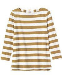 Toast - Stripe Jersey Top - Lyst