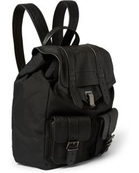 Proenza Schouler Ps1 Leather-Trimmed Nylon Backpack - Lyst