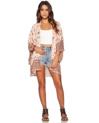 Spell & The Gypsy Collective - Coyote Short Kimono - Lyst