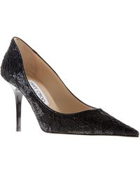 Jimmy Choo Black Agnes Pumps - Lyst