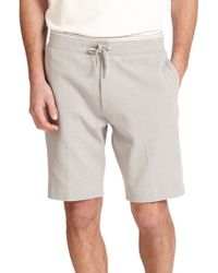 Diesel Gray Storm Shorts - Lyst