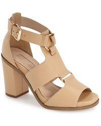 Topshop | Rumba Leather Sandals | Lyst