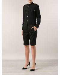 Versus - Tailored Shorts - Lyst