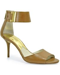 MICHAEL Michael Kors Guiliana - Open Toe Sandal - Lyst