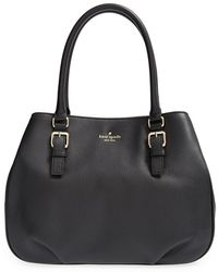 Kate Spade 'Cobble Hill - Luisa' Pebbled Leather Tote - Lyst