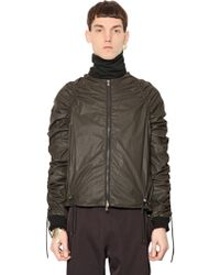 Y. Project Drawstring Coated Cotton Jacket - Lyst