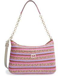 Eric Javits Powchky Shopper Bag purple - Lyst