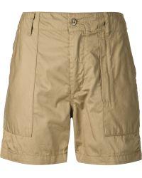 Engineered Garments Safari Shorts - Lyst