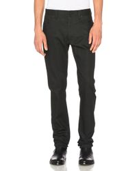 CALVIN KLEIN 205W39NYC - Waxed Heavyweight Cotton Stretch Jeans - Lyst