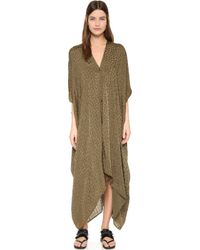 Rodebjer - Agave Lillies Caftan - Lyst