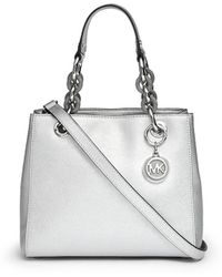 Michael Kors | 'cynthia' Small Saffiano Leather Satchel | Lyst