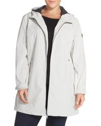 CALVIN KLEIN 205W39NYC - Hooded Soft Shell Jacket - Lyst
