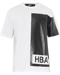 Hood By Air Ilusion Block Cotton T-Shirt - Lyst