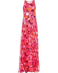 Diane von Furstenberg Davina Printed Maxi Dress pink - Lyst