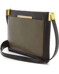 Time's Arrow - Ishi Large Cross Body Bag - Black Multi - Lyst