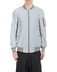 DRKSHDW by Rick Owens Reflective Flight Bomber - Lyst