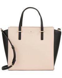 Kate Spade Hayden Leather Tote Bag - Lyst